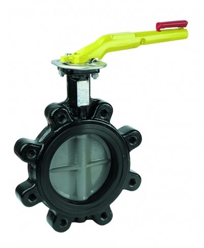 Butterfly valve - lug type for natural gas