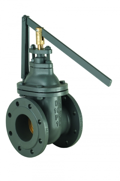 Cast Iron Gate Valve Flat Body Fast Shutting